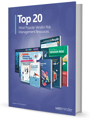 2018 20 Top Most Popular Vendor Risk Management Resources