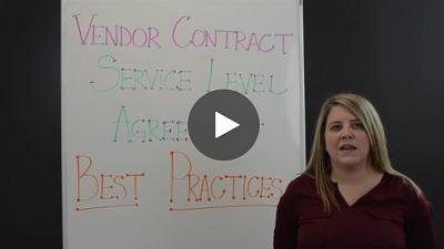 2018 Vendor Contract Service Level Agreement Best Practices - Video
