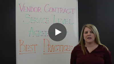 2018 Vendor Contract Service Level Agreement Best Practices - Video