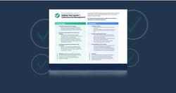 vendor cybersecurity checklist