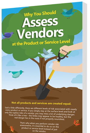assess vendors at product or service level