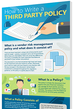 how to write a third party policy