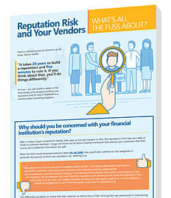 bank credit union mortgage vendor management reputation risk