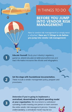 steps before vendor risk management