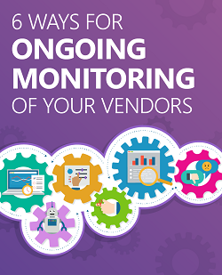 ongoing monitoring of your vendors