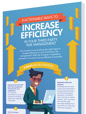 increase efficiency third party risk management