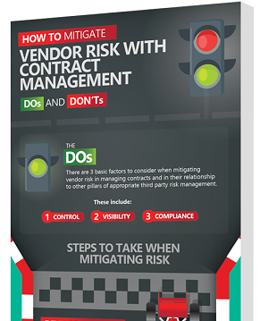 vendor risk contract management dos and donts