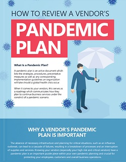 vendors pandemic plan