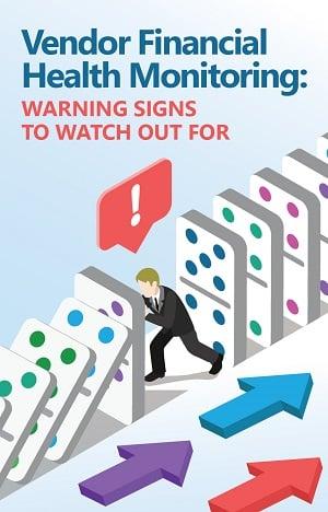 vendor financial health montioring warning signs