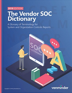 vendor soc dictionary 2019