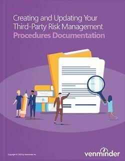 third-party risk management procedures documentation