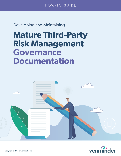 mature third-party risk management governance documentation