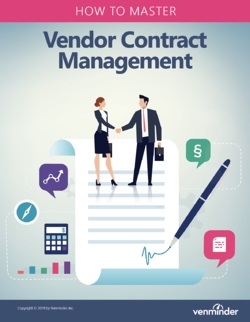 master vendor contract management