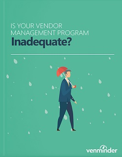 vendor management program inadequate