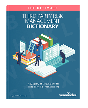 third party risk management dictionary