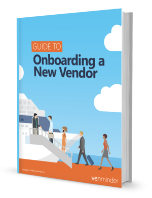 guide to onboarding a new vendor