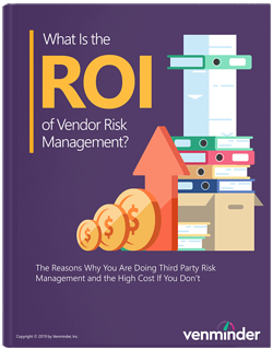 roi of vendor risk management