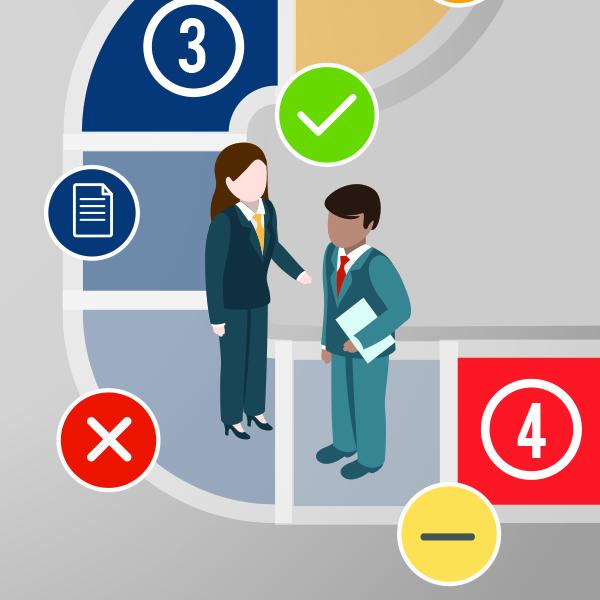 resources Vendor Selection process new vendor infographic