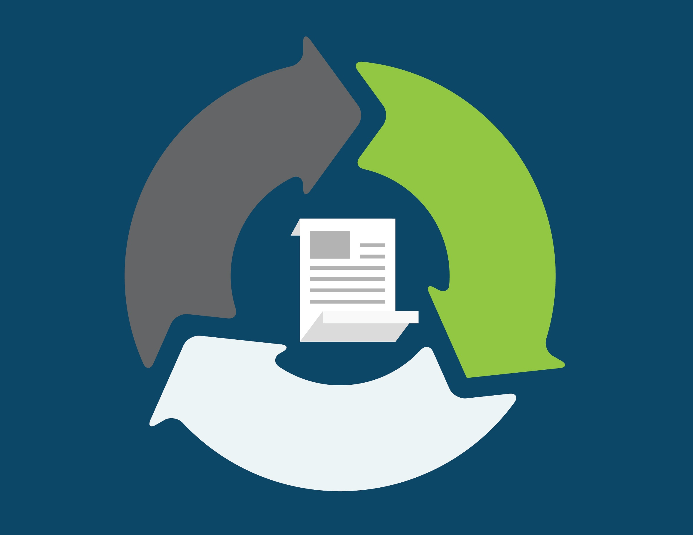 resources bank, credit union, mortgage vendor management lifecycle infographic