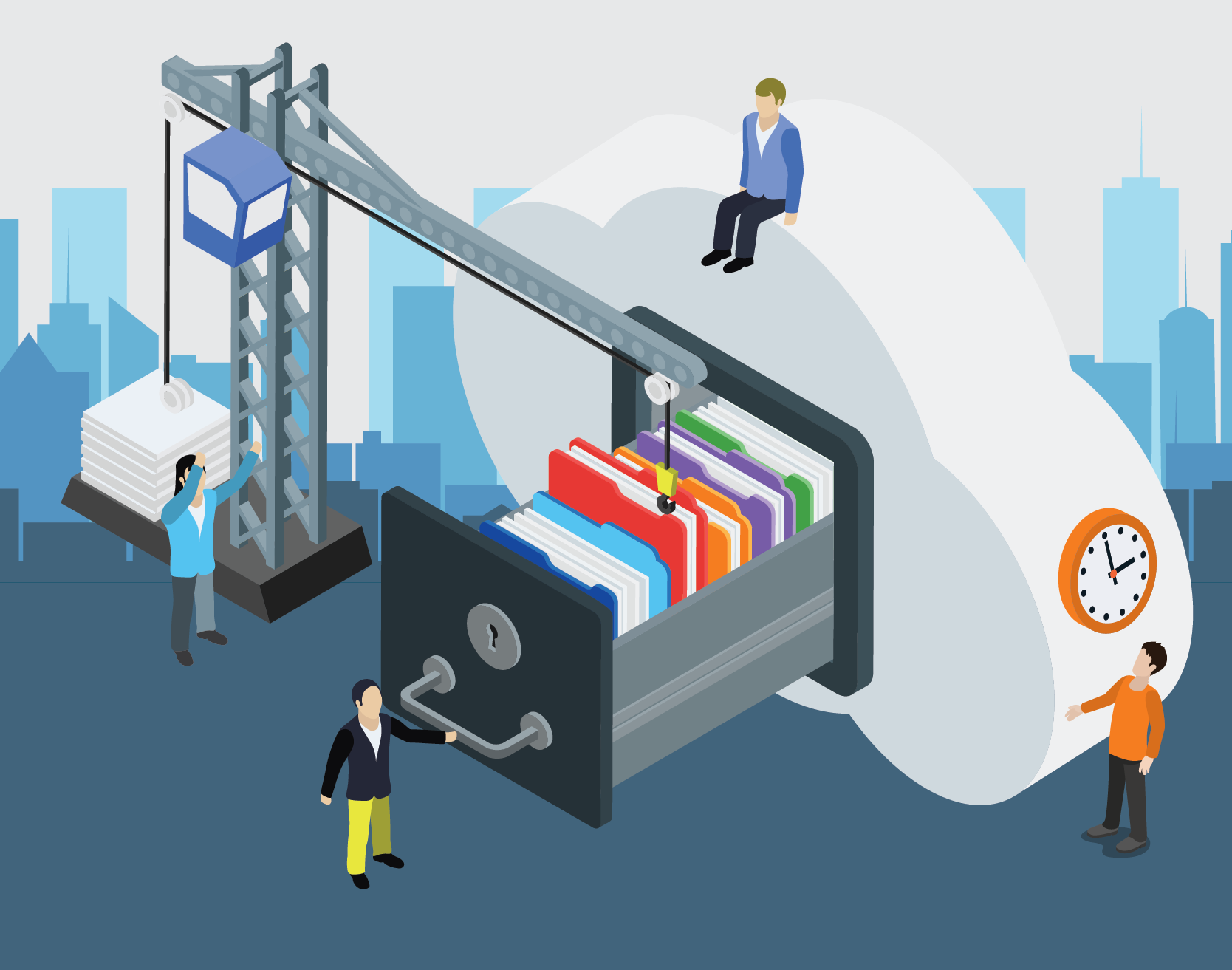 resources vendor plus product plus risk equals documentation infographic