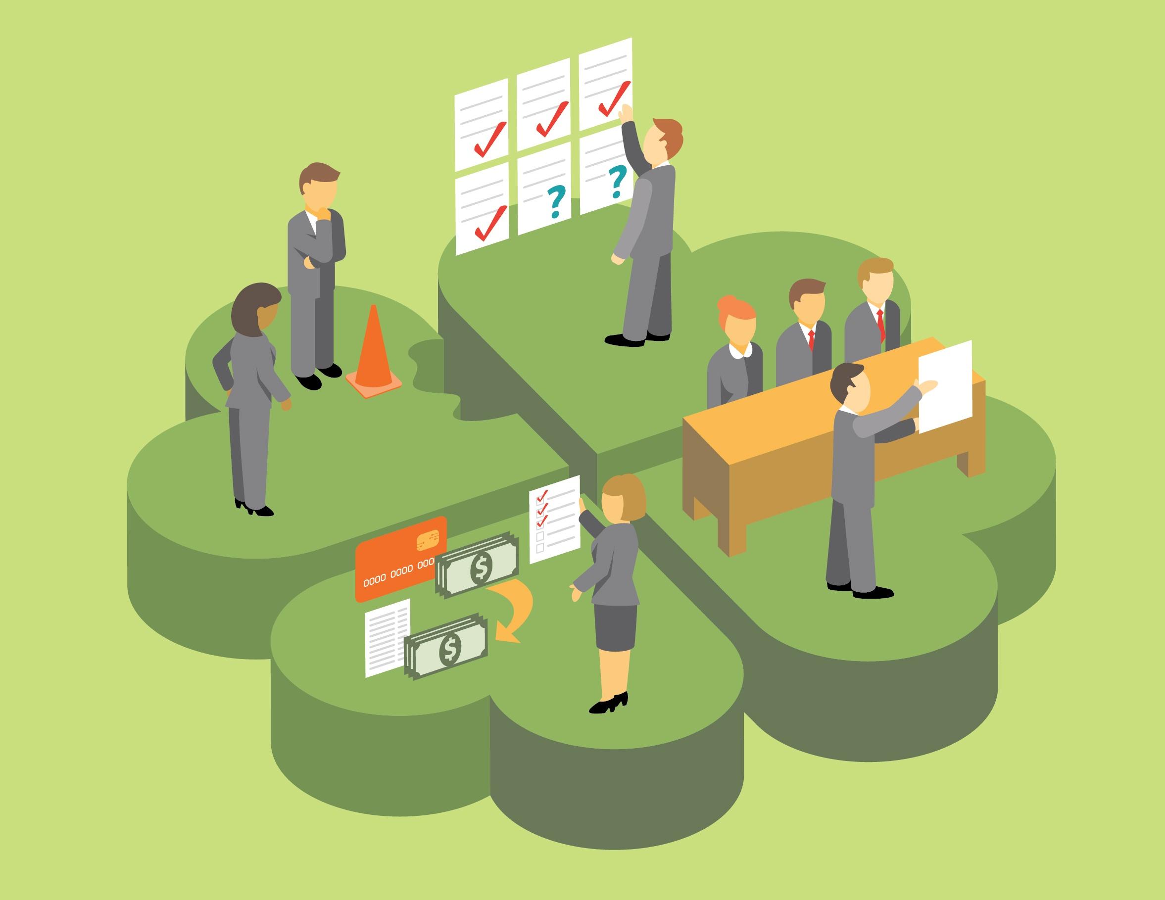 resources vendor management st patricks day infographic