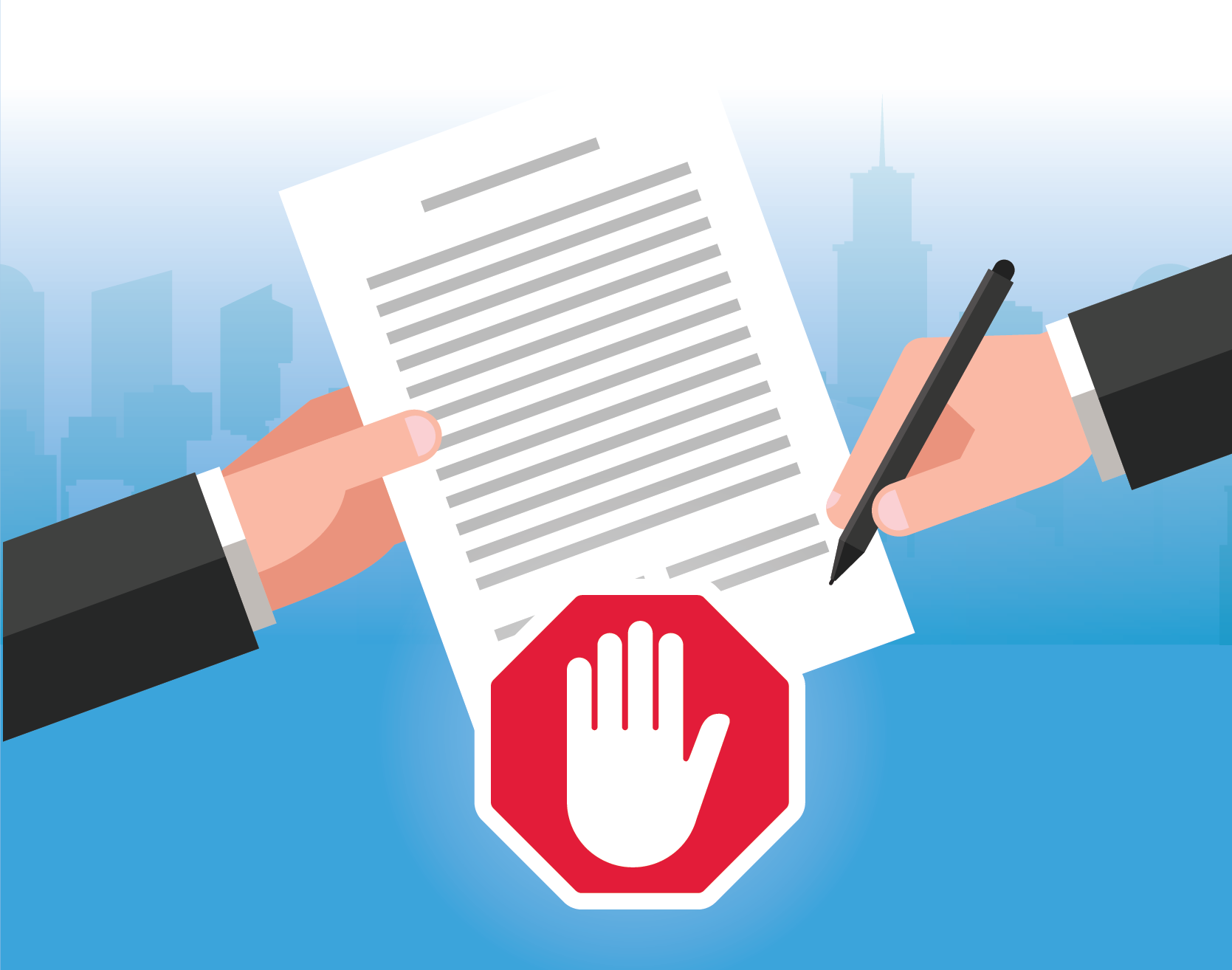 don't sign the vendor contract just yet