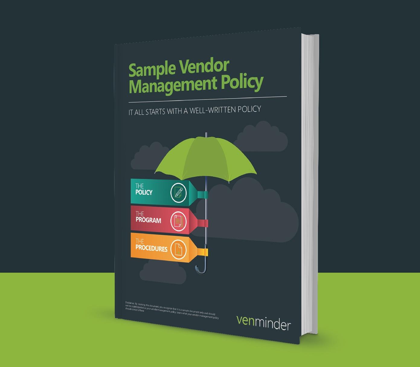 Sample Vendor Management Policy