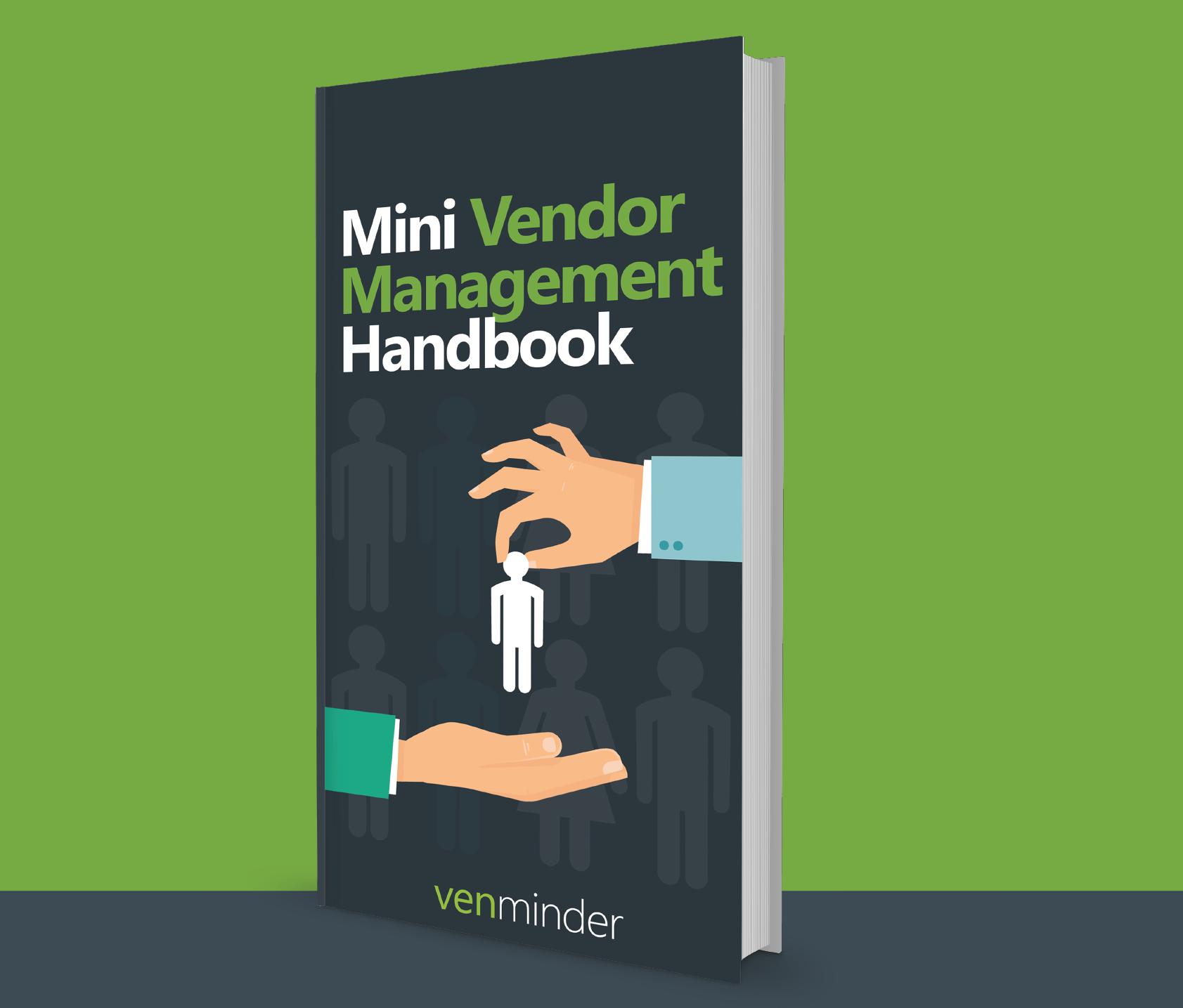 vendor management checklist and handbook