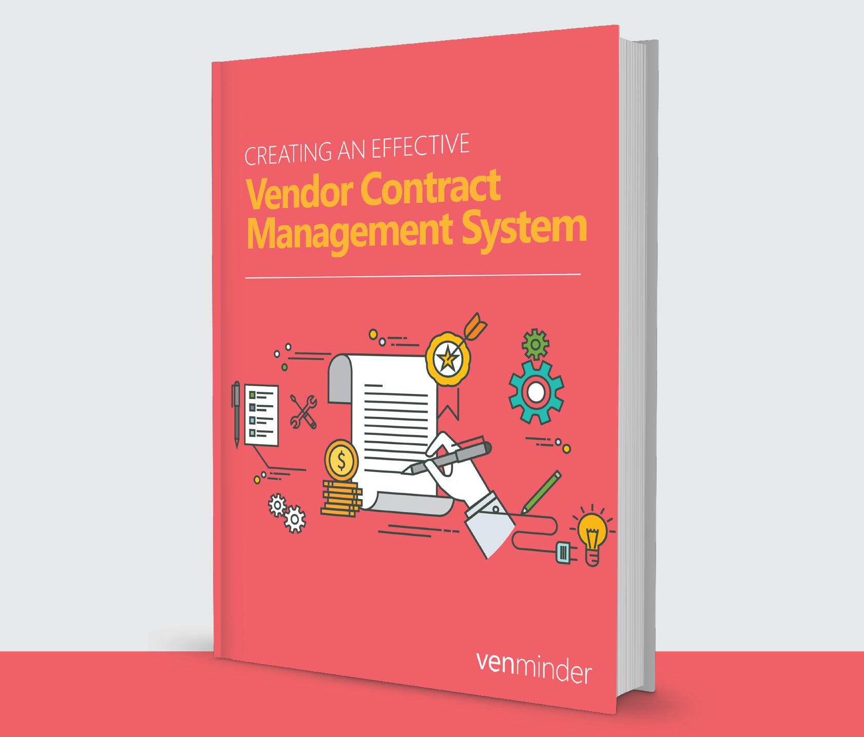 effective vendor contract management system