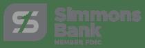 Simmons Bank - gray