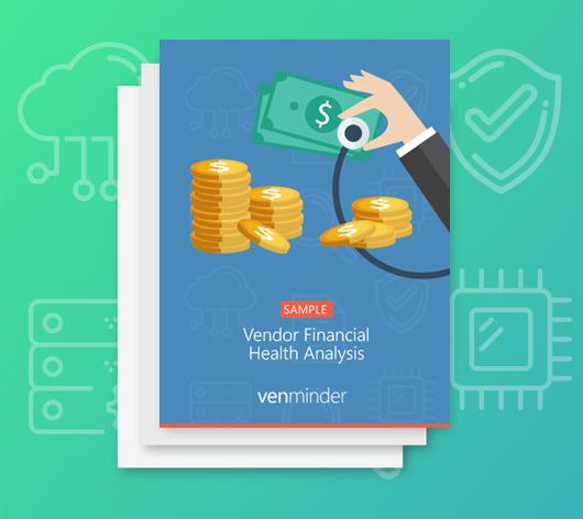 sample vendor financial health analysis