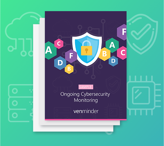 ongoing cybersecurity monitoring report sample