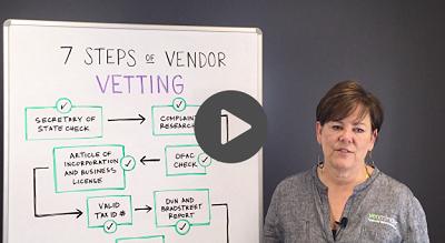 7 Steps of Vendor Vetting Vendor Management Video