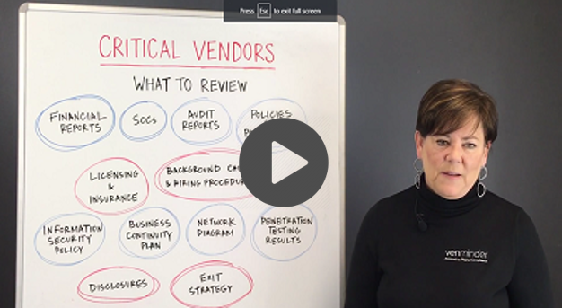 Vendor Management Critical Vendors