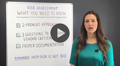 vendor management risk assessments