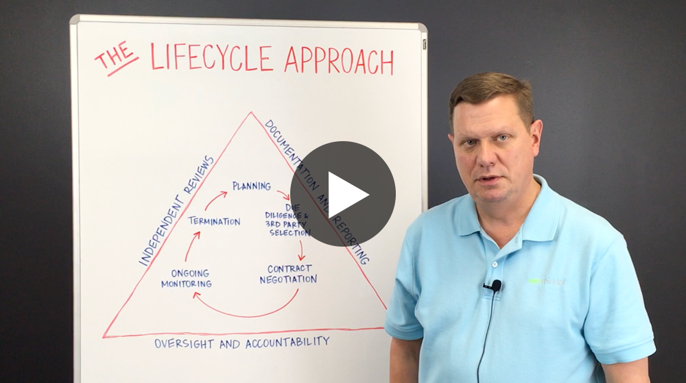 Lifecycle Approach to Third Party Risk Management