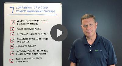 Third Party  Thursday 7 Key Components of a Good Vendor Management Program