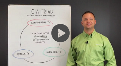 CIA Triad Within Vendor Management