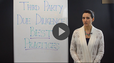 third party thursday 6 third party due diligence best practices