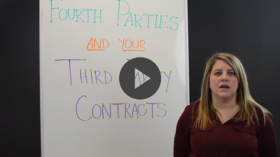fourth parties and third party contracts