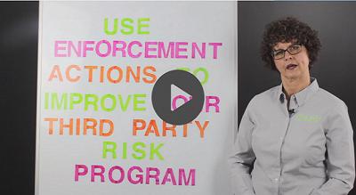third party risk enforcement actions