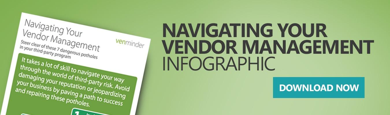 Navigating Vendor Management Infographic