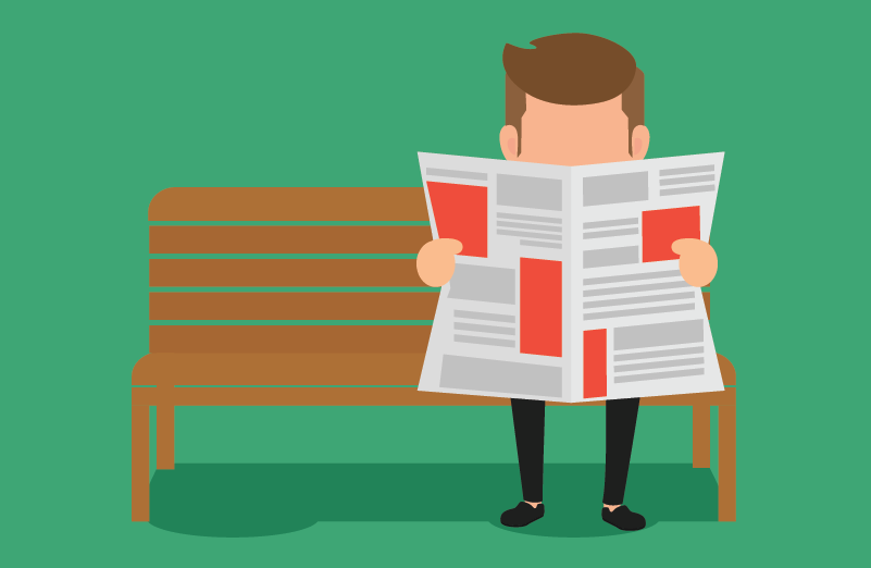 Reading the news_FEATURED