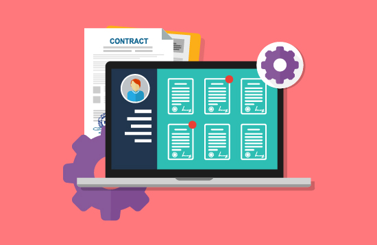 contract management software component