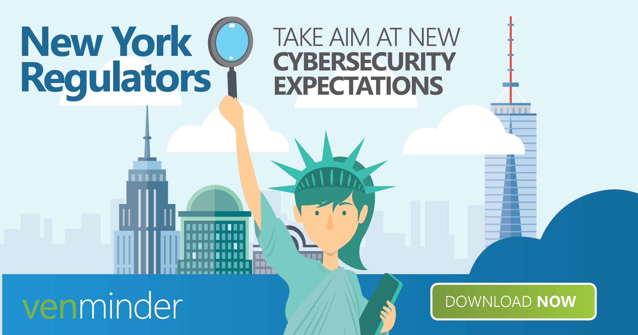nydfs cyber security expectations   regulations infographic